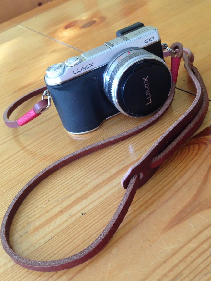 My Panasonic GX7 with Gordy Strap