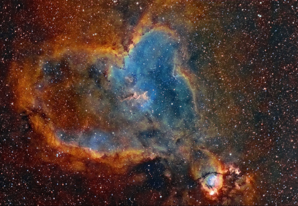 In the Heart Nebula lies Melotte 15 | BrownSpaceman