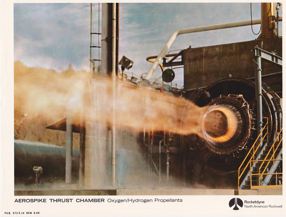 thrust-chamber - saturn rocket