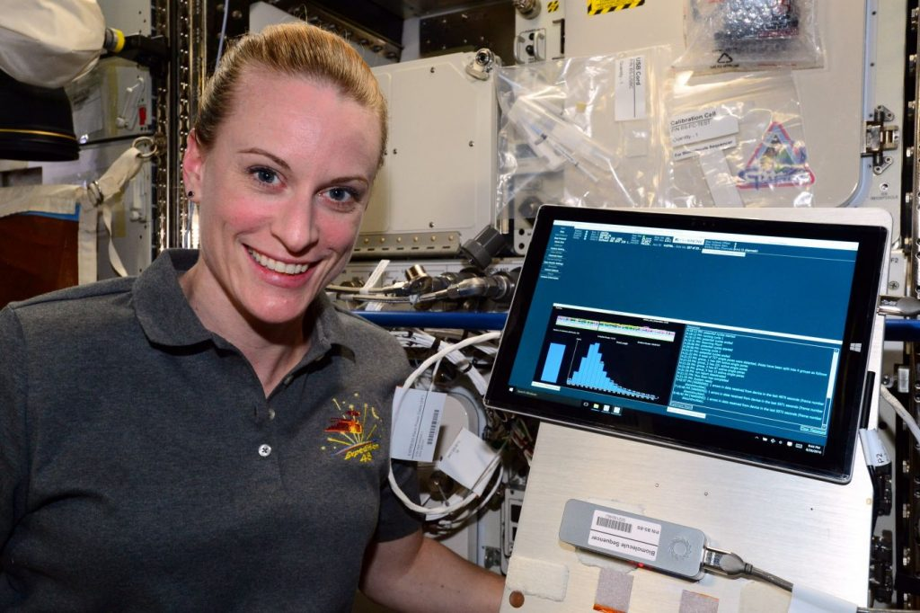 Kate Rubins - DNA Sequencing in Space