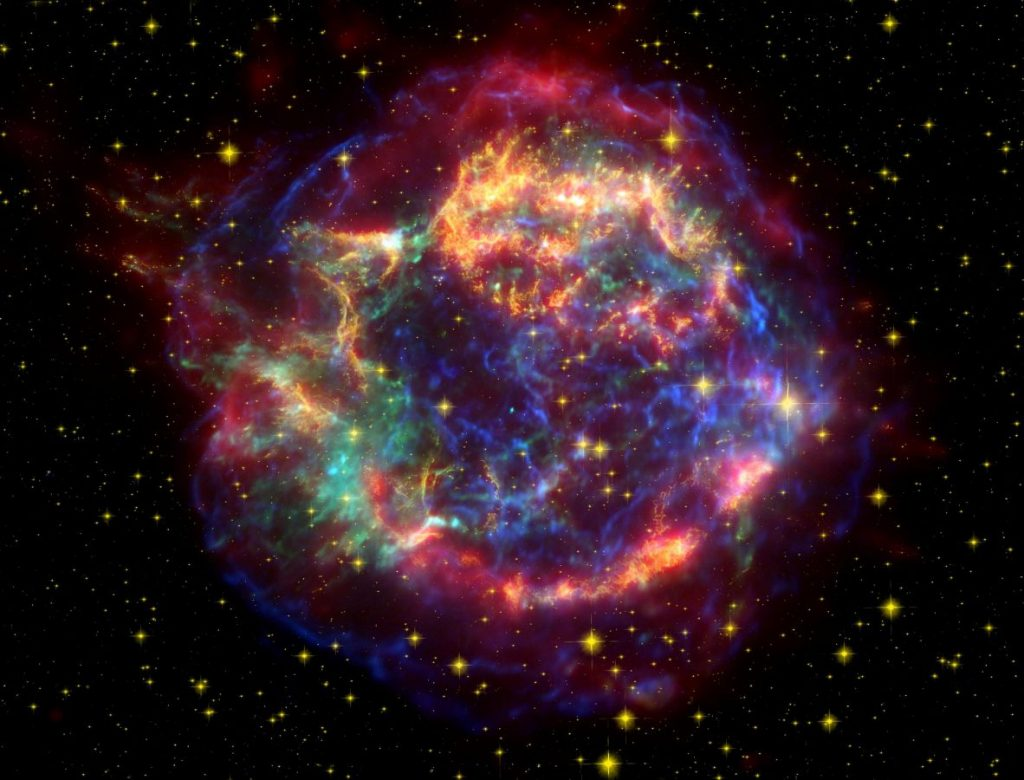 Cassiopeia A - Spitzer