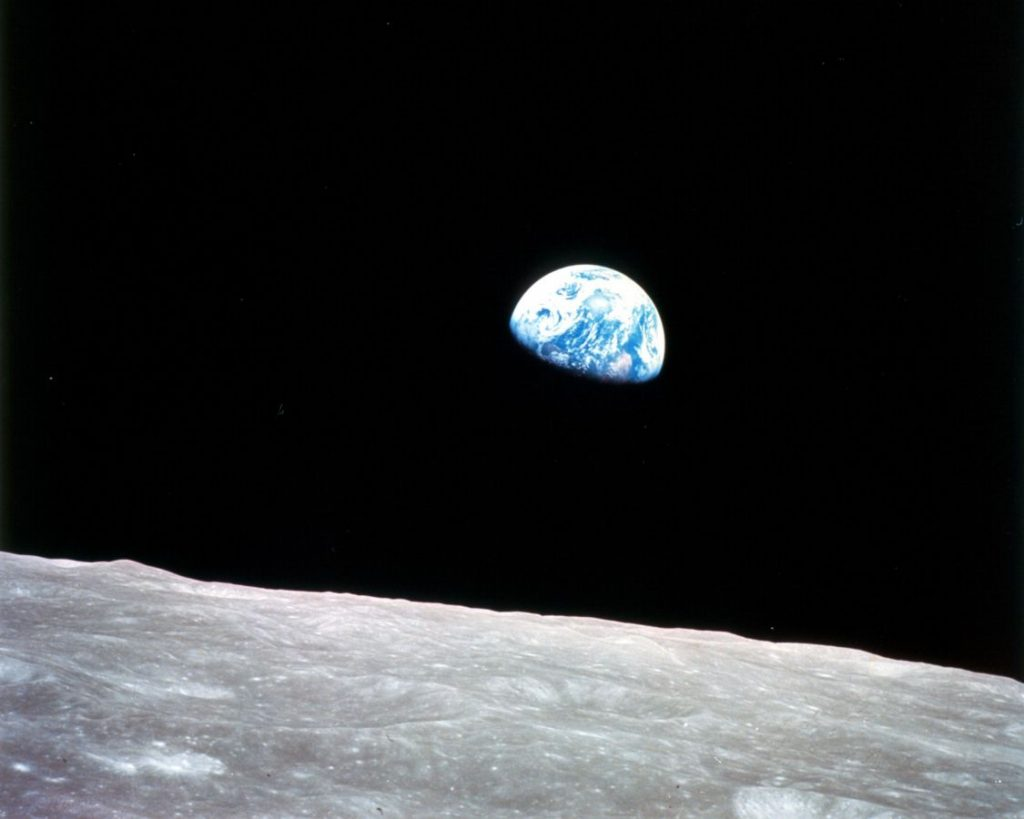 Earthrise from the Moon - NASA - Apollo 8