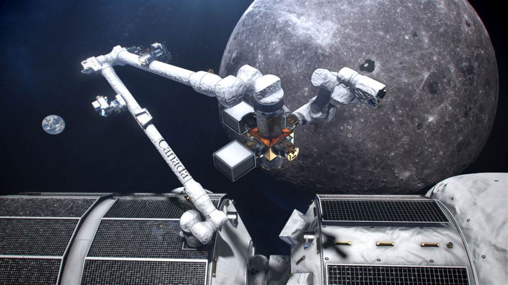 Canada's-smart-robotic-system-for-the-Lunar-Gateway