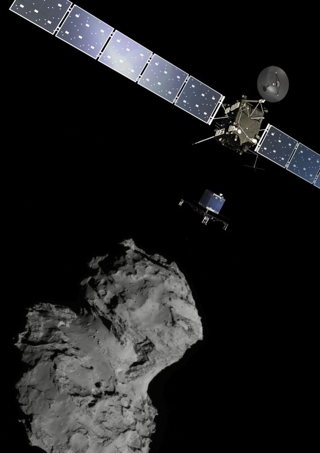 Rosetta lands on Comet 67P - ESA