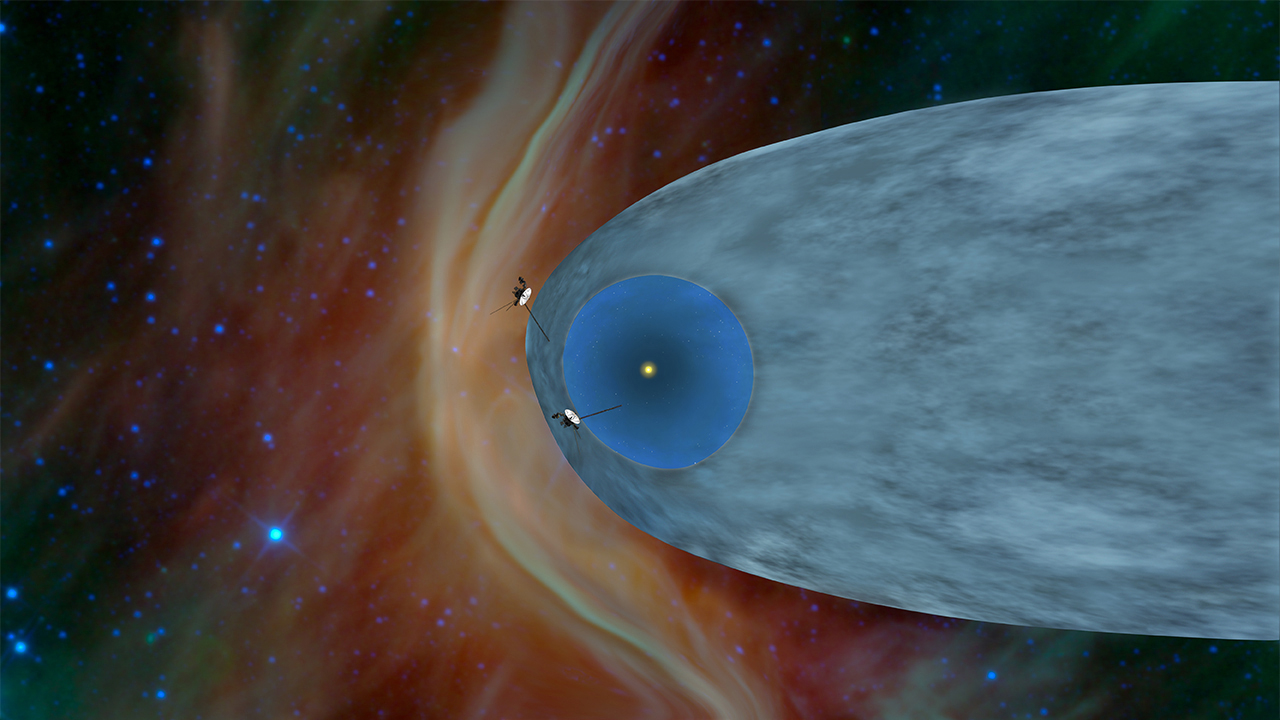 Voyager 1 entering interstellar space - NASA