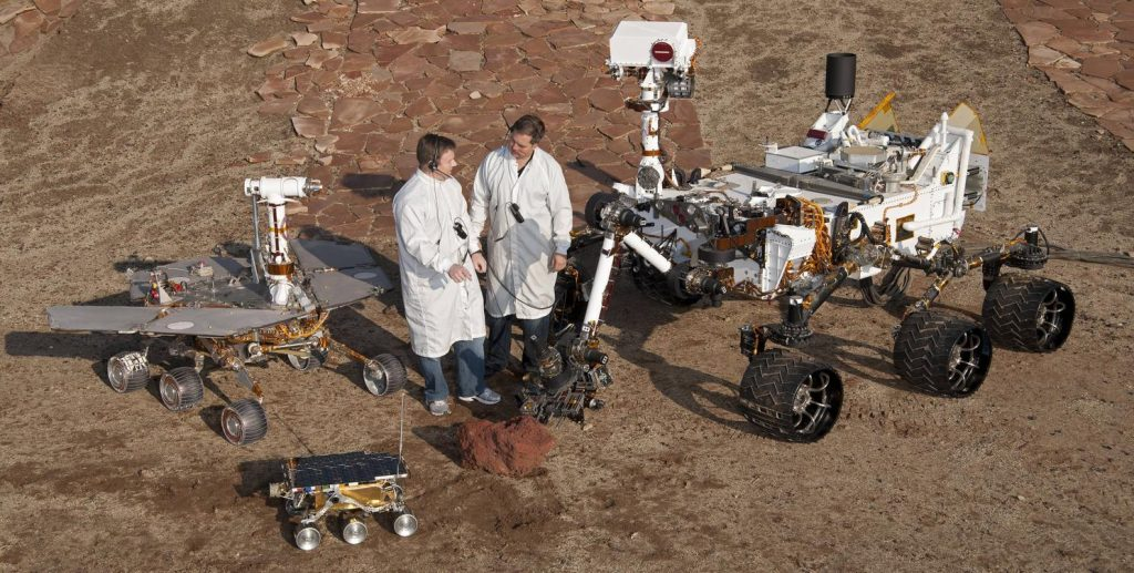 Sojourner-Curiosity rover-Spirit rover -opportunity rover